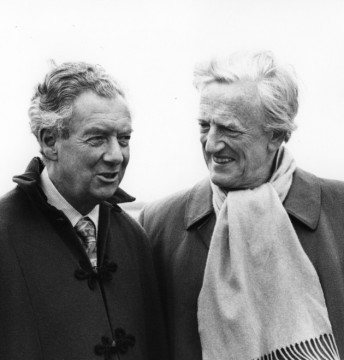 Benjamin Britten and his partner Peter Pears