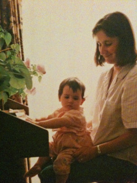 Rachel aged 18 months